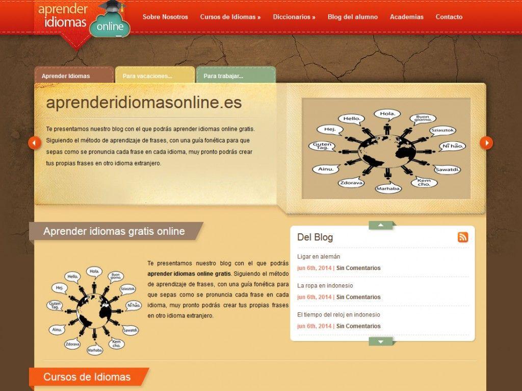 Aprenderidiomasonline.es