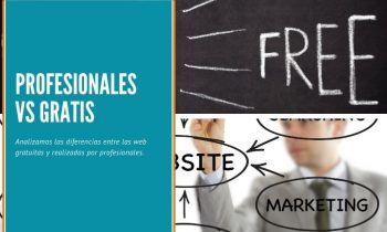 Profesionales del diseño web vs aplicaciones gratuitas