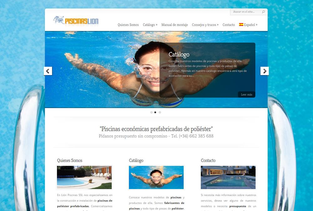 Piscinaslion.es