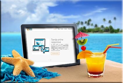 Prepara tu tienda online para el verano