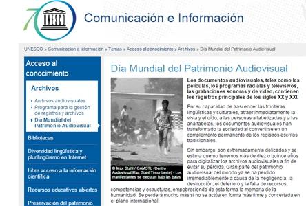 patrimonio-audiovisual UNESCO