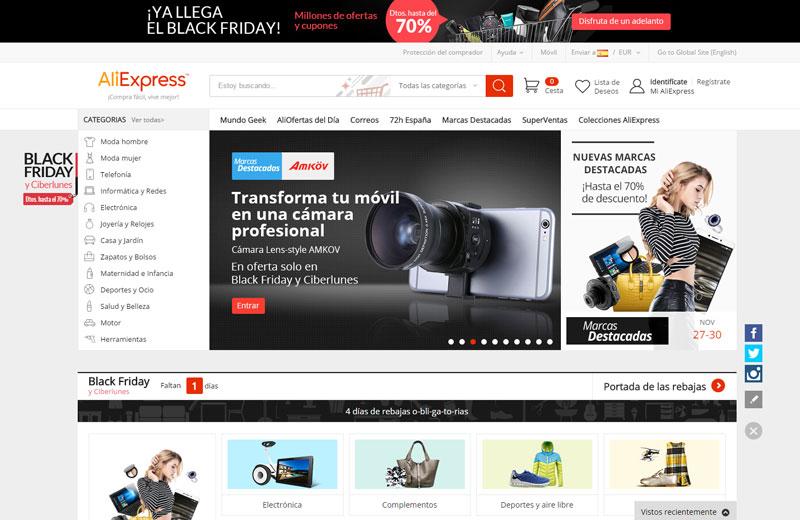 Casos de éxito: AliExpress