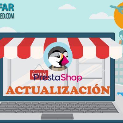 Actualización de tiendas Prestashop