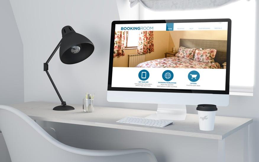 Diseño de página web para hotel