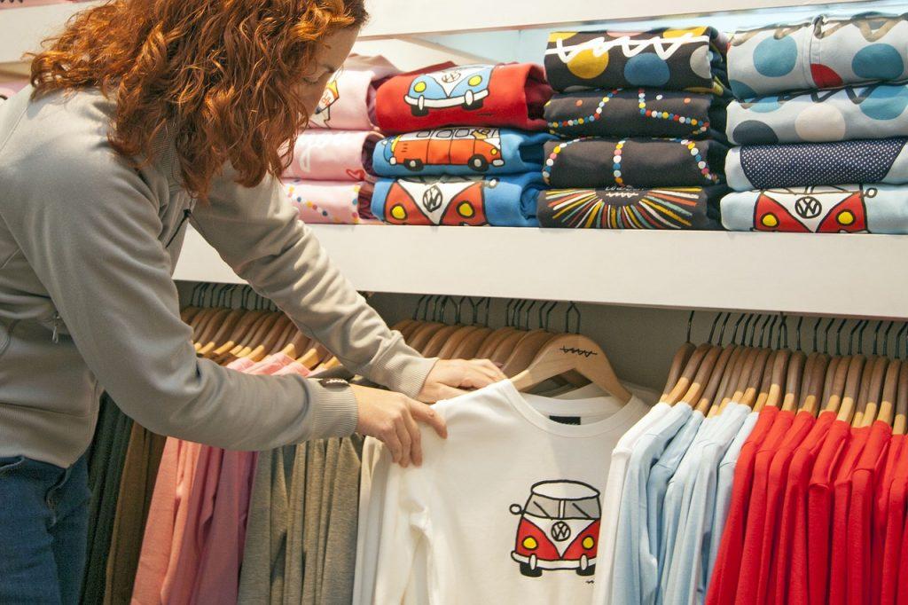 Diseño de tienda de camisetas online