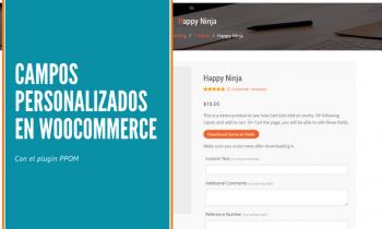 Cómo añadir campos personalizados en los productos de Woocommerce