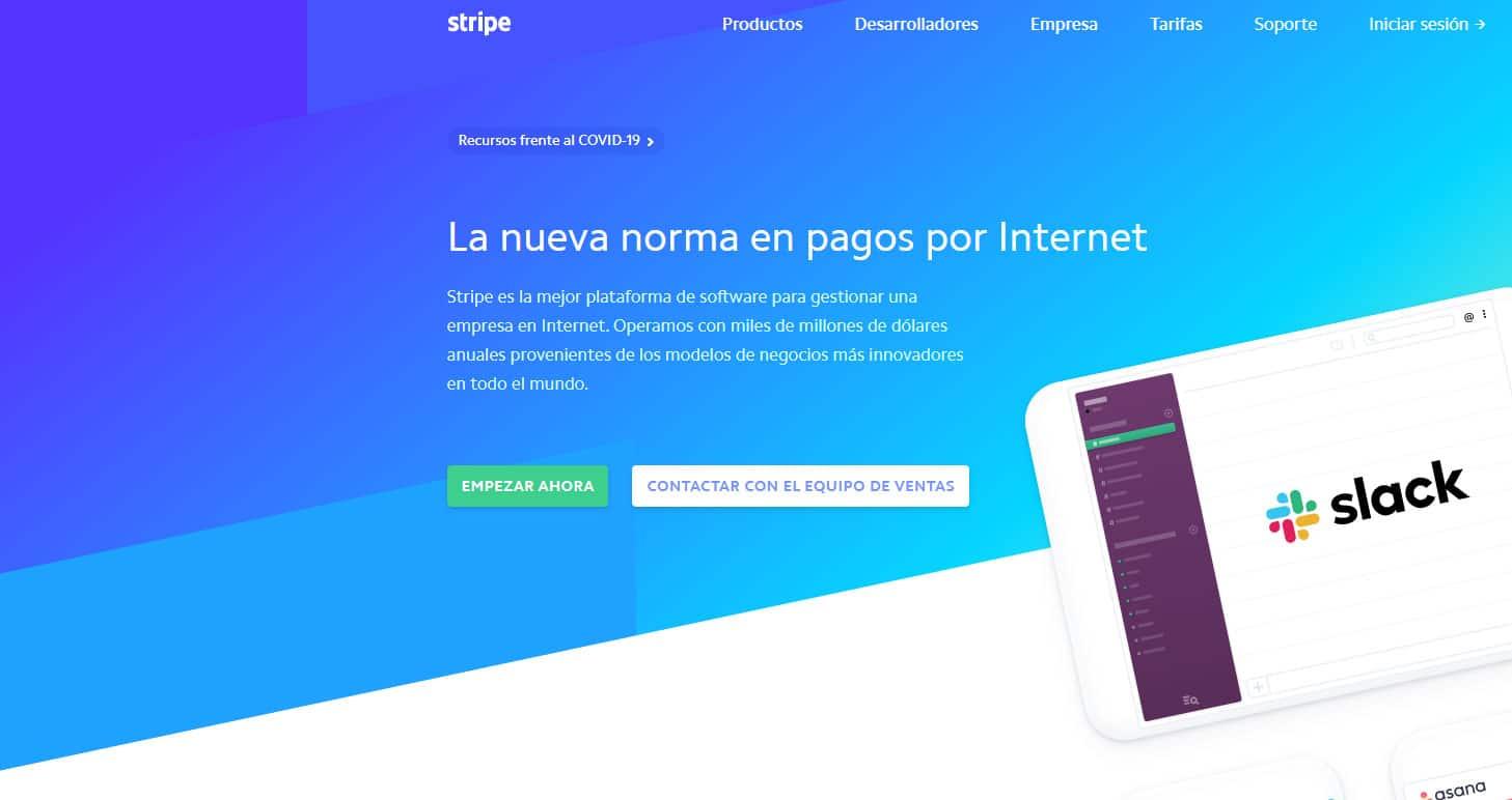 Stripe, la forma de pago para tiendas online que más convierte